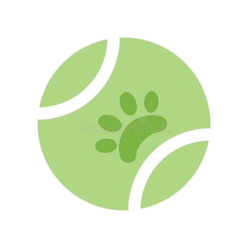 Muestra y símbolo del vector del icono de la bola aislados en el fondo blanco, concepto del logotipo de la bola libre illustration