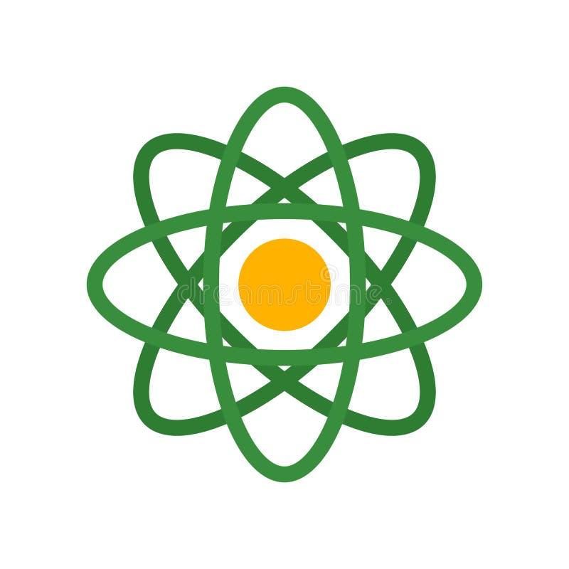 Muestra y símbolo del vector del icono de la ciencia aislados en el fondo blanco, concepto del logotipo de la ciencia ilustración del vector