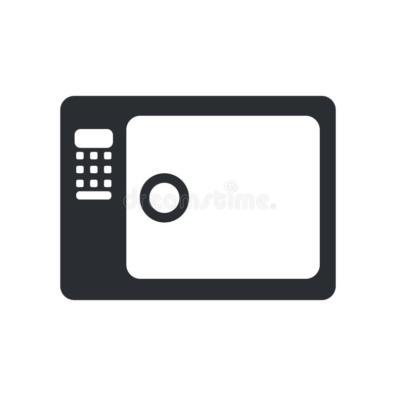 Muestra y símbolo del vector del icono de la esterilización aislados en el fondo blanco, concepto del logotipo de la esterilizaci stock de ilustración