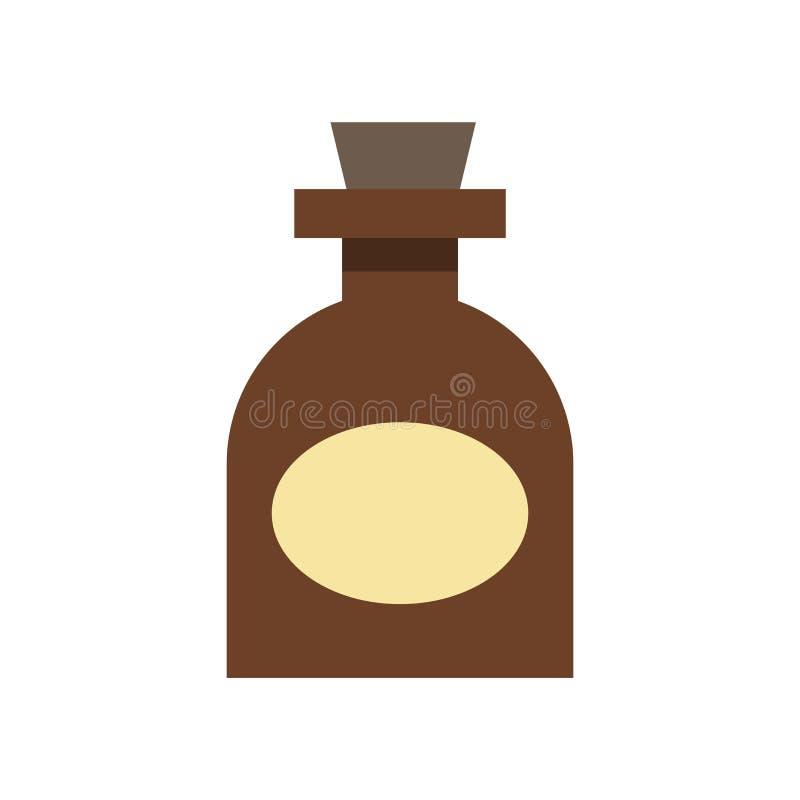 Muestra y símbolo del vector del icono de la medicina aislados en el backgroun blanco stock de ilustración