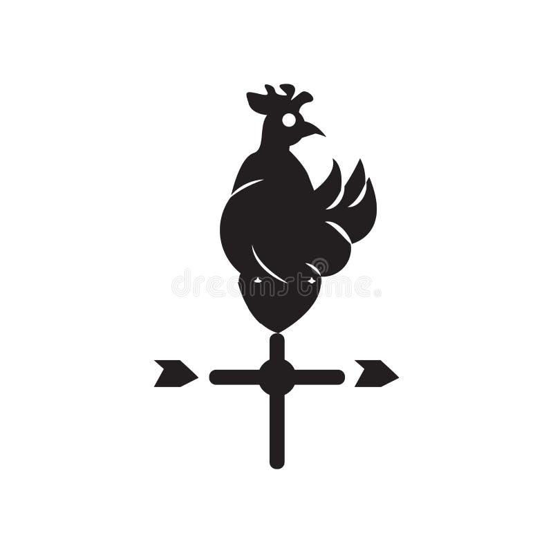 Muestra y símbolo del vector del icono de la paleta de tiempo aislados en el backg blanco libre illustration
