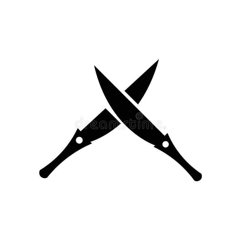 Muestra y símbolo del vector del icono de SABRE aislados en el fondo blanco, concepto del logotipo de SABRE stock de ilustración