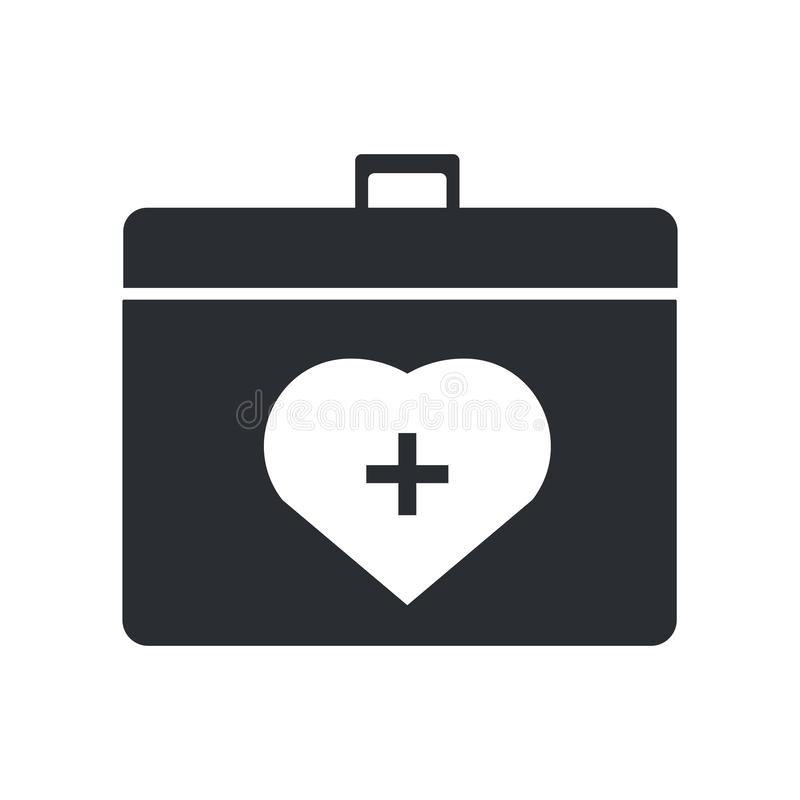 Muestra y símbolo del vector del icono del envase del órgano aislados en el fondo blanco, concepto del logotipo del envase del ór ilustración del vector