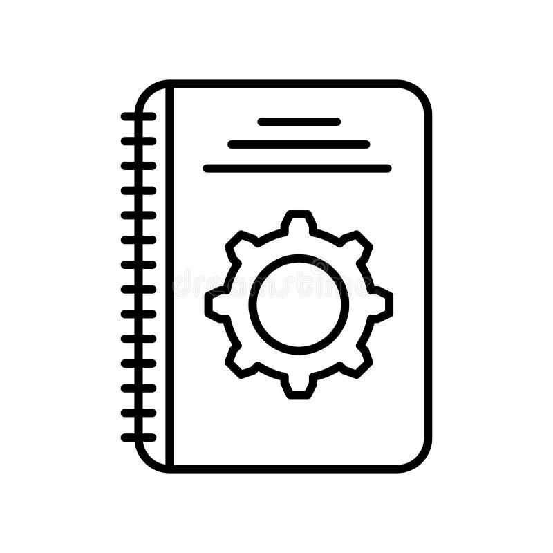 Muestra y símbolo del vector del icono del hardware aislados en el fondo blanco, concepto del logotipo del hardware libre illustration