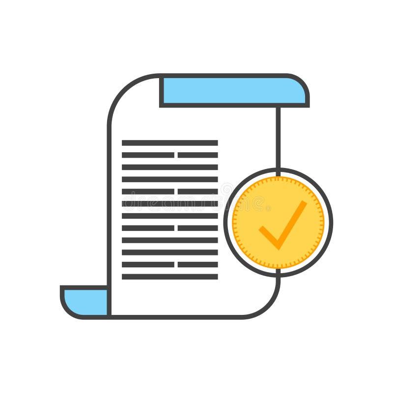 Muestra y símbolo del vector del icono del libro mayor aislados en el fondo blanco, concepto del logotipo del libro mayor stock de ilustración