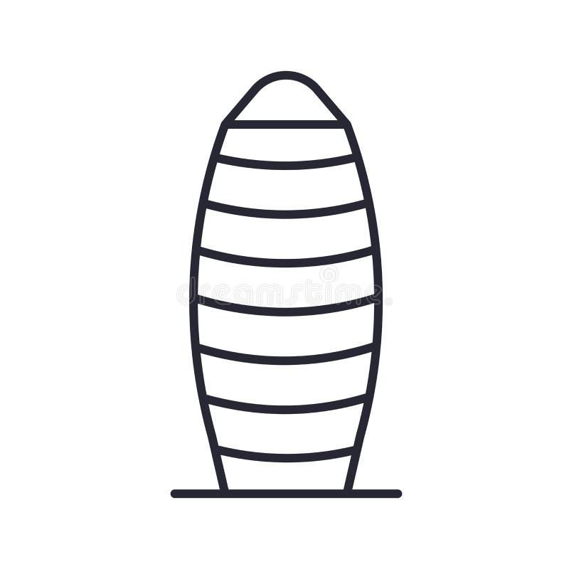 Muestra y símbolo del vector del icono del pepinillo aislados en el fondo blanco, concepto del logotipo del pepinillo libre illustration