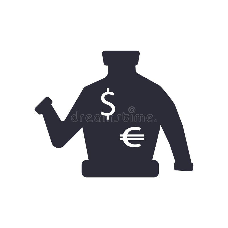 Muestra y símbolo del vector del icono del suéter aislados en el fondo blanco, concepto del logotipo del suéter ilustración del vector