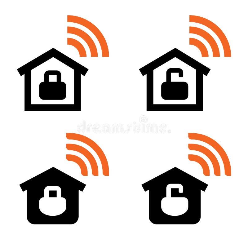 Muestras caseras del vector de Wi-Fi libre illustration