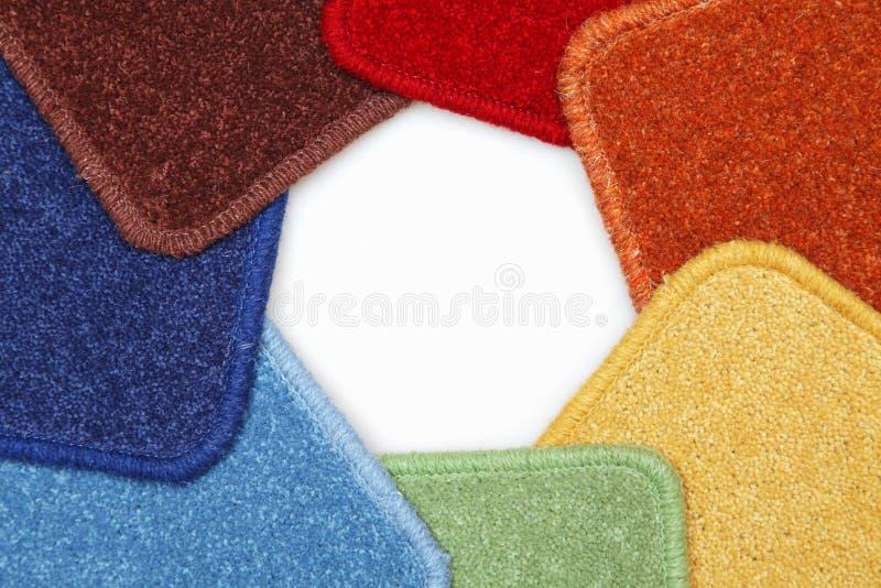 Muestras de alfombras foto de archivo libre de regalías