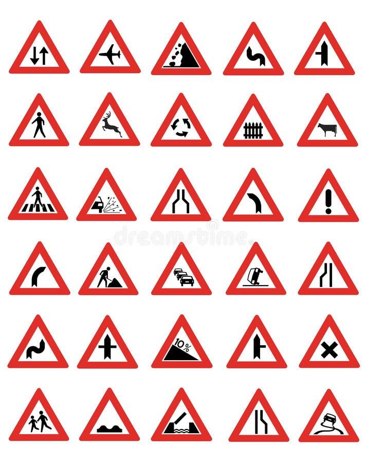Muestras de camino stock de ilustración