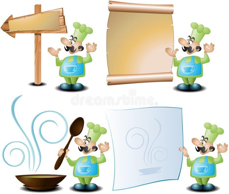 Muestras de Invitiation ilustración del vector