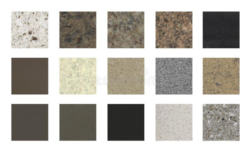 Muestras de m rmol del color de la encimera imagen de - Tipos de marmoles ...