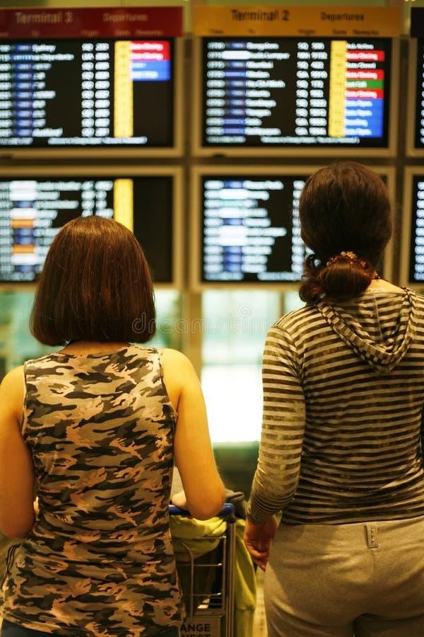Muestras del aeropuerto imagen de archivo libre de regalías