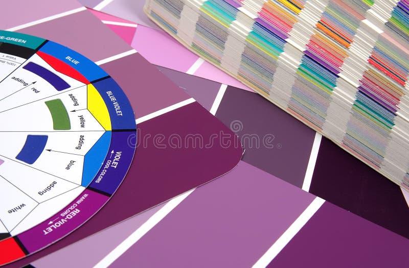 Muestras del color imagen de archivo libre de regalías