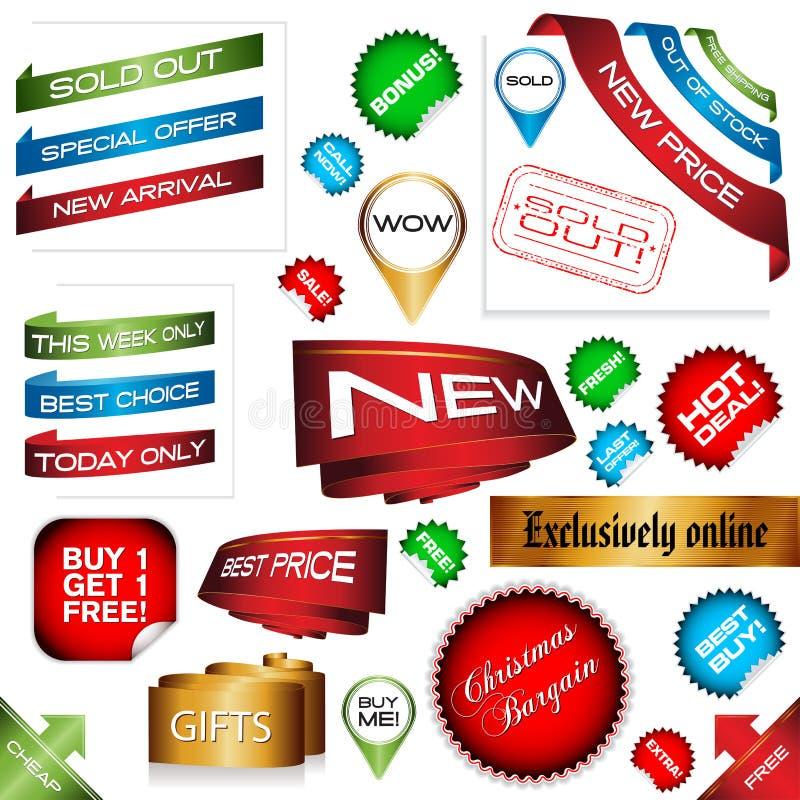 Muestras del comercio electrónico libre illustration