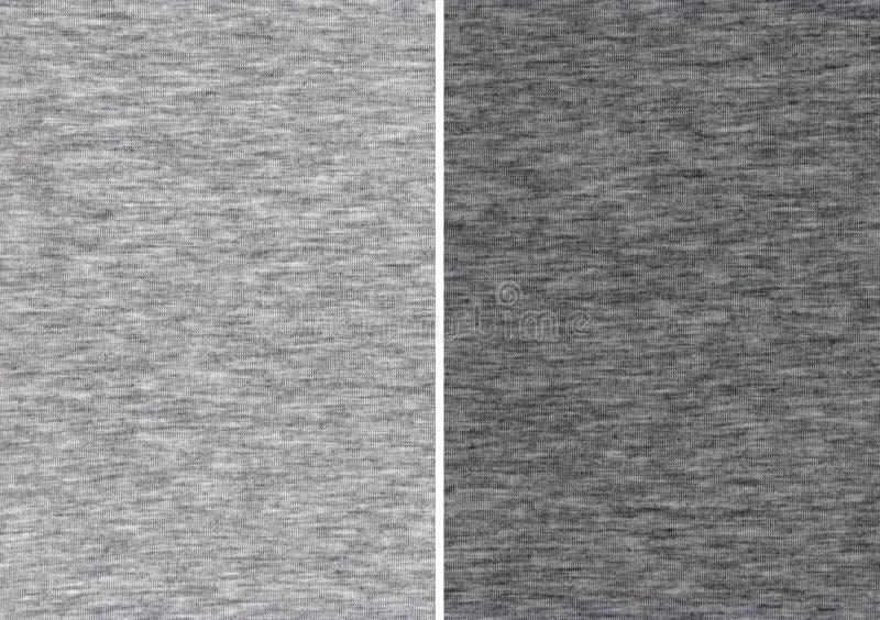 Muestras grises atléticas de la materia textil imagen de archivo libre de regalías