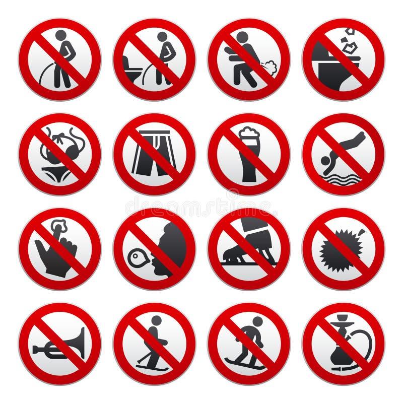 Muestras prohibidas libre illustration