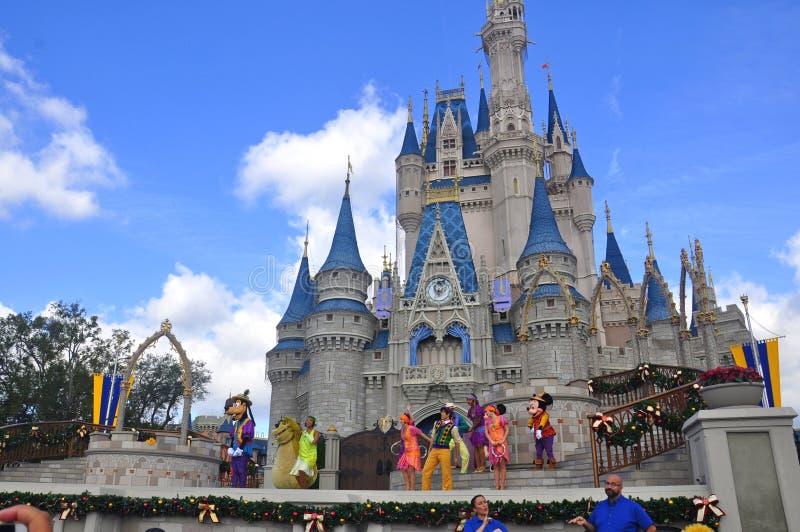 Muestre en el parque mágico del reino, Walt Disney World Resort Orlando, la Florida, los E.E.U.U. fotos de archivo