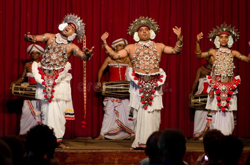Muestre en el teatro tradicional de Sri Lankian fotos de archivo libres de regalías