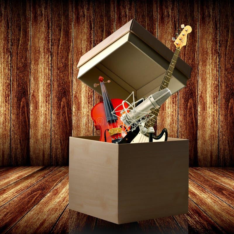 Muestre su talento de la música fotografía de archivo libre de regalías
