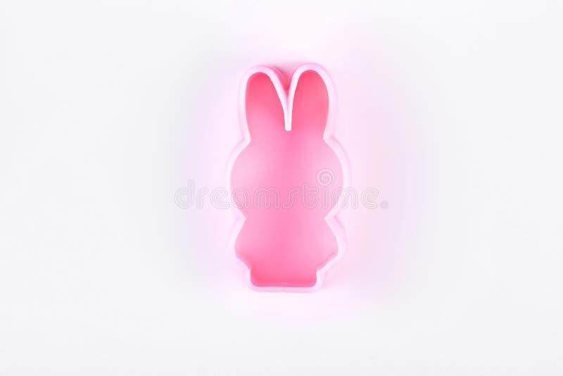Muffa rosa naturale fatta a mano del sapone fotografia stock libera da diritti