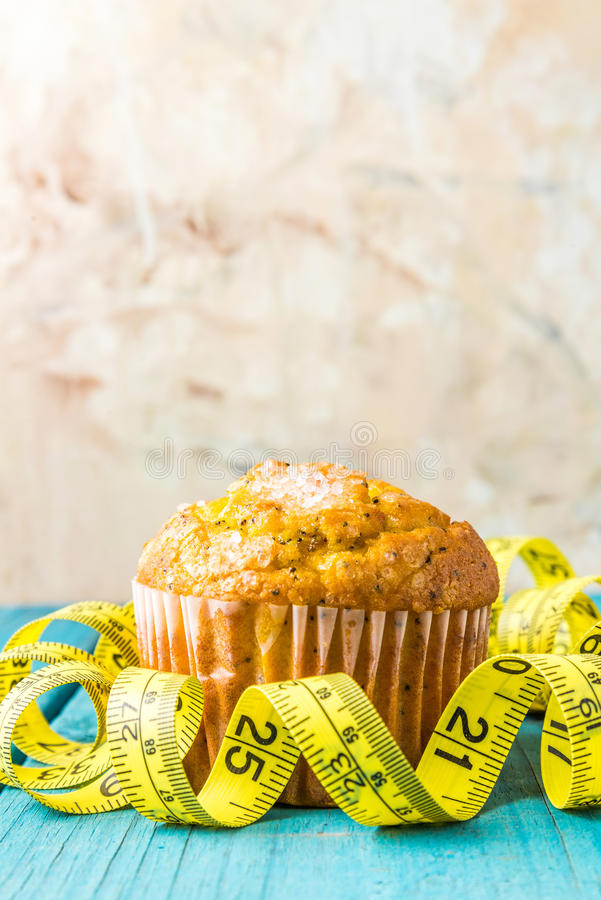 Muffin λεμονιών στοκ εικόνες