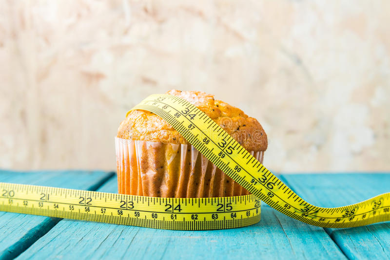 Muffin λεμονιών στοκ εικόνα με δικαίωμα ελεύθερης χρήσης