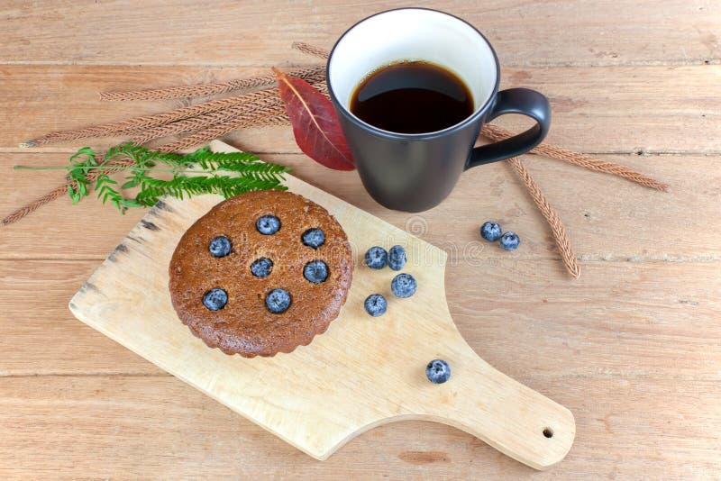 Muffin μπανανών βακκίνια στοκ εικόνες με δικαίωμα ελεύθερης χρήσης