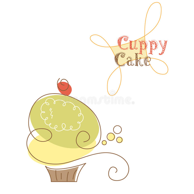 muffin stock illustrationer