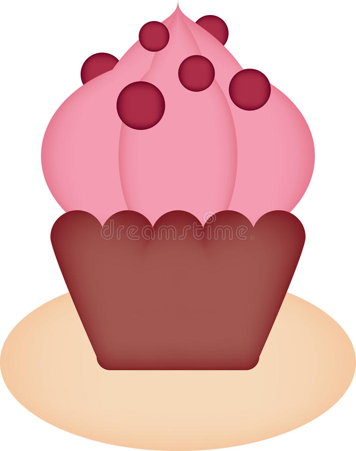 Muffin vector illustratie