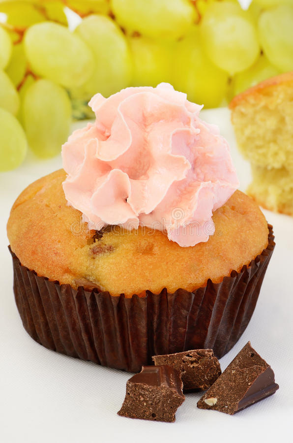 The muffin royalty free stock photo