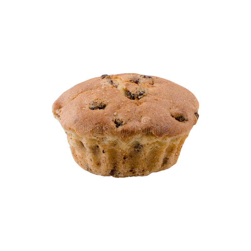 Muffin bakery. On a white stock images
