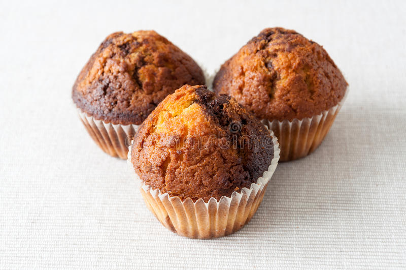 Muffin cakes royalty free stock image