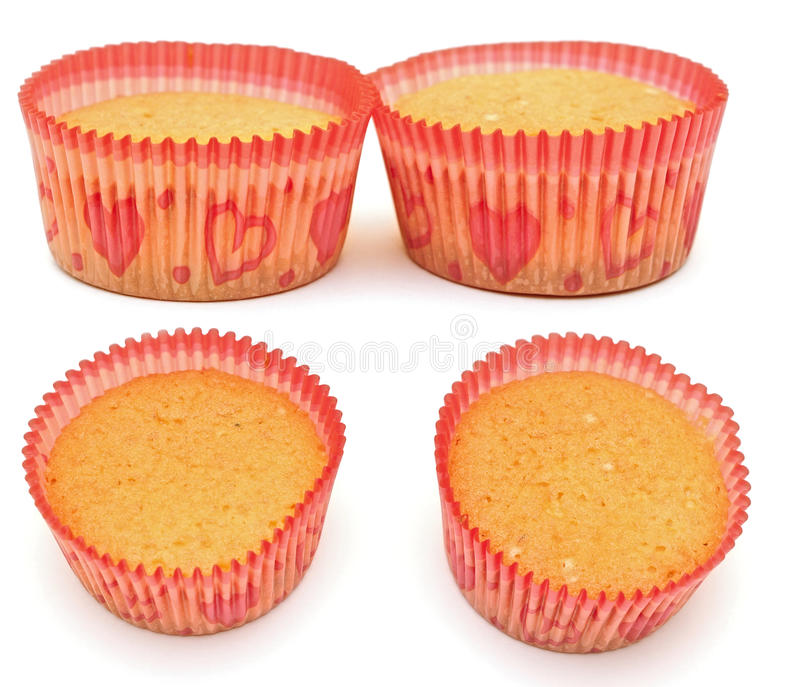 Muffin Cakes Collage Royalty Free Stock Photography