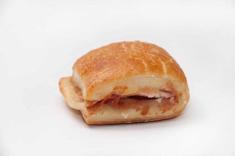 Muffin con il prosciutto ed il formaggio immagini stock libere da diritti
