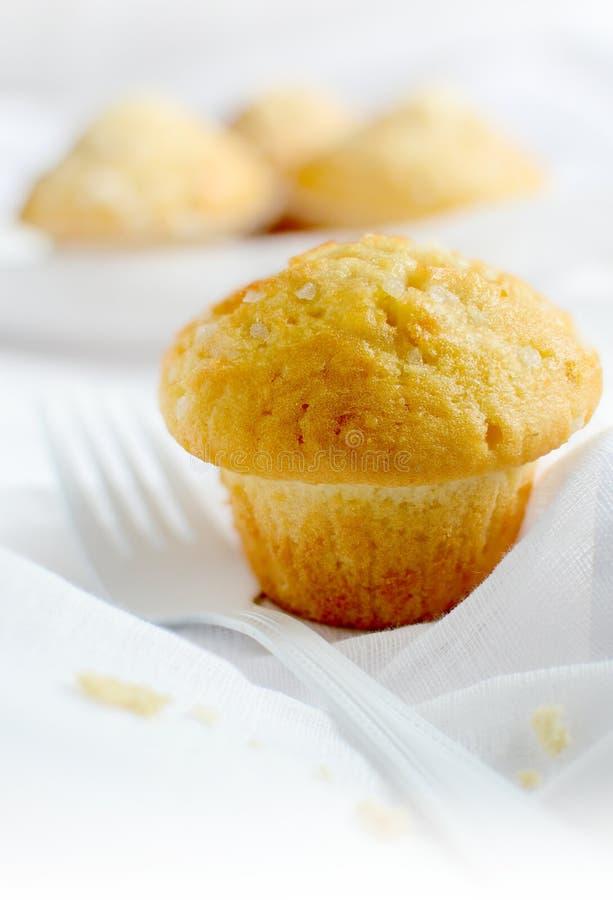 Muffin del limone immagini stock libere da diritti