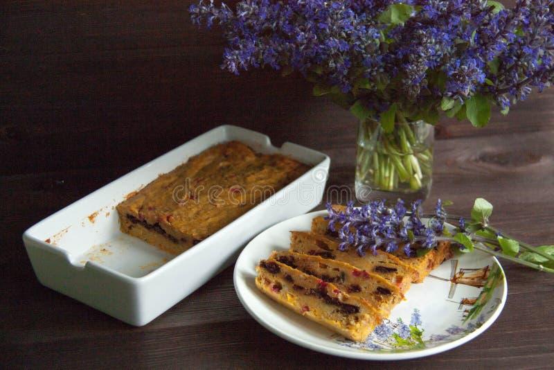 Muffin della carota e della banana immagini stock libere da diritti
