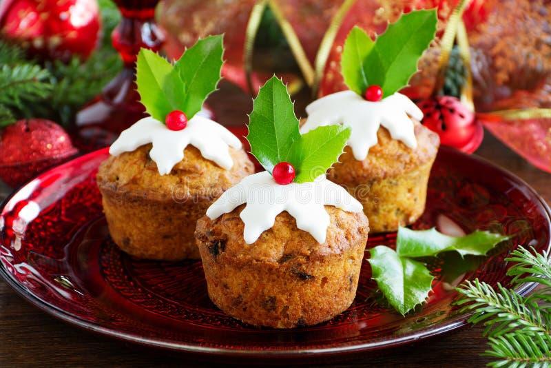 Muffin della carota e della zucca fotografie stock