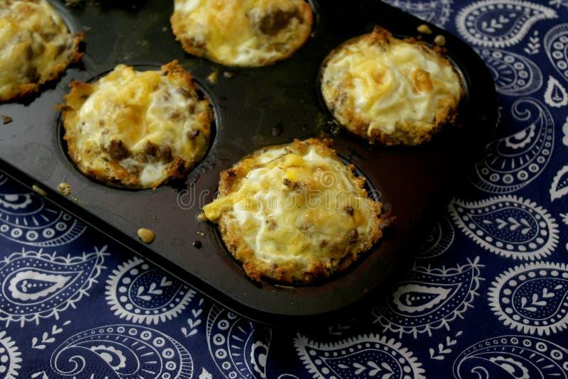 Muffin di carne immagine stock libera da diritti