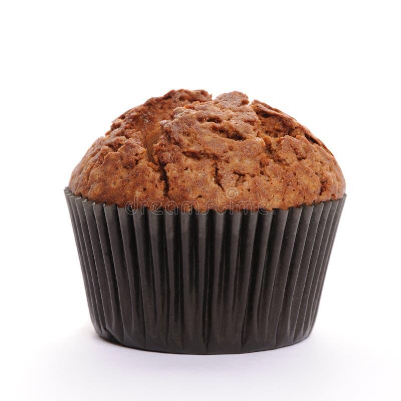 Muffin die op wit wordt geïsoleerd? royalty-vrije stock afbeelding