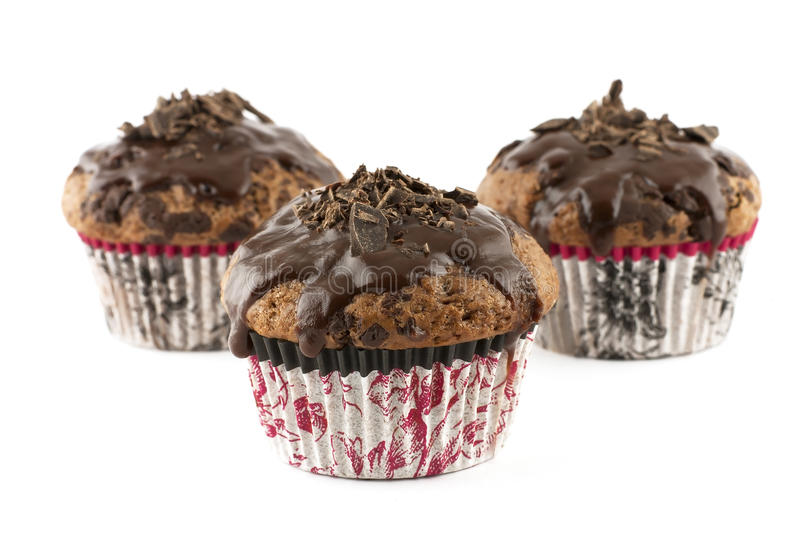 Muffin do chocolate foto de stock royalty free