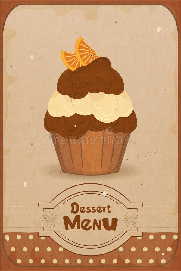 Download Muffin With Orange Royalty Free Stock Images - Image: 26876209