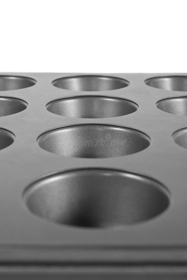 Muffin Pan Stock Photo