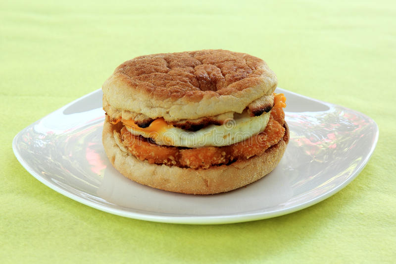 Muffin voor ontbijt royalty-vrije stock fotografie