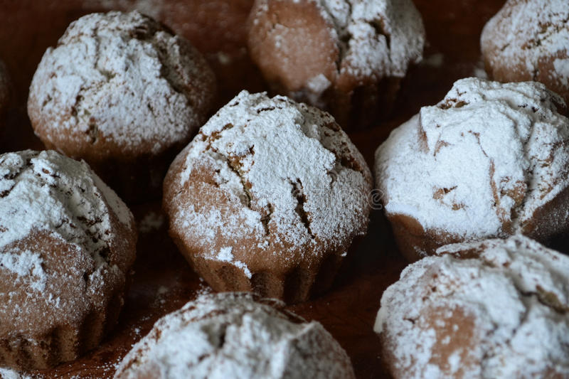 Muffin-yummy royalty-vrije stock fotografie