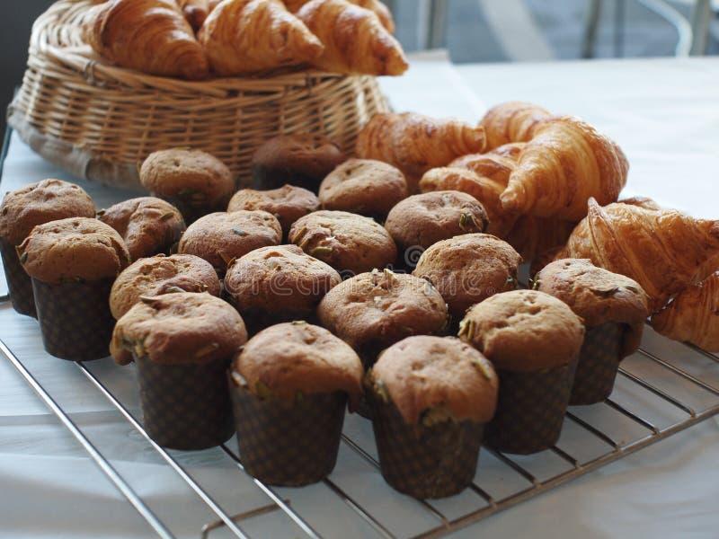muffinbakelse arkivfoto