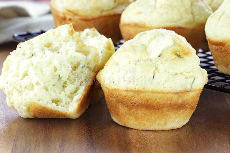 muffins αλμυρά στοκ εικόνα