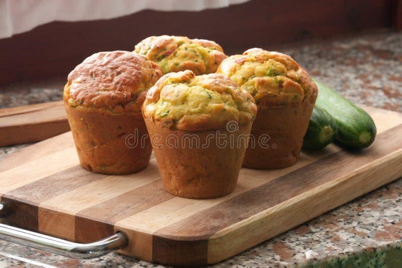 Muffins κολοκυθιών στοκ εικόνα