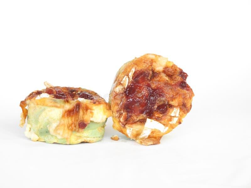 muffins τυριών ζυμαρικά στοκ φωτογραφίες