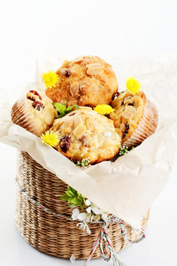 Download Muffins stock photo. Image of snack, small, basket, patisserie - 24370672